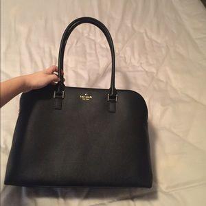 Kate spade black shoulder bag tote